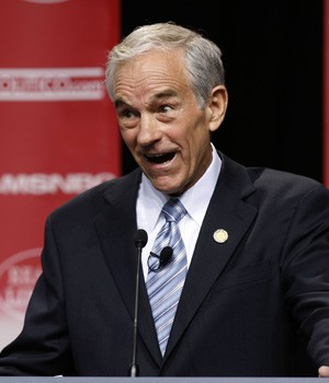 Ron Paul, grade A screwball