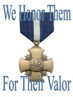 The Navy Cross; the Navy's 2nd highest honor