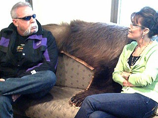 Paul Teutul Sr. and Sarah Palin