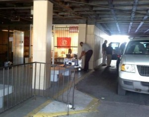 State Investigators removing evidence from ACRON office on NOLA. Photo from Big Government Contributor Kevin Kane