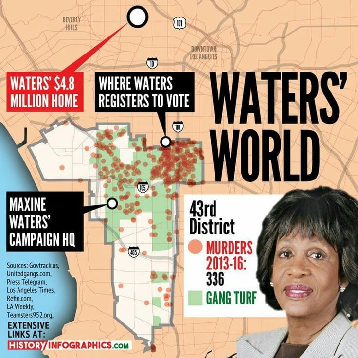 mad maxine waters says she s received death threats bitsblog